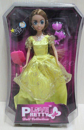 82004 Кукла типа Барби, в коробке 22.5*6*34см, фото 2