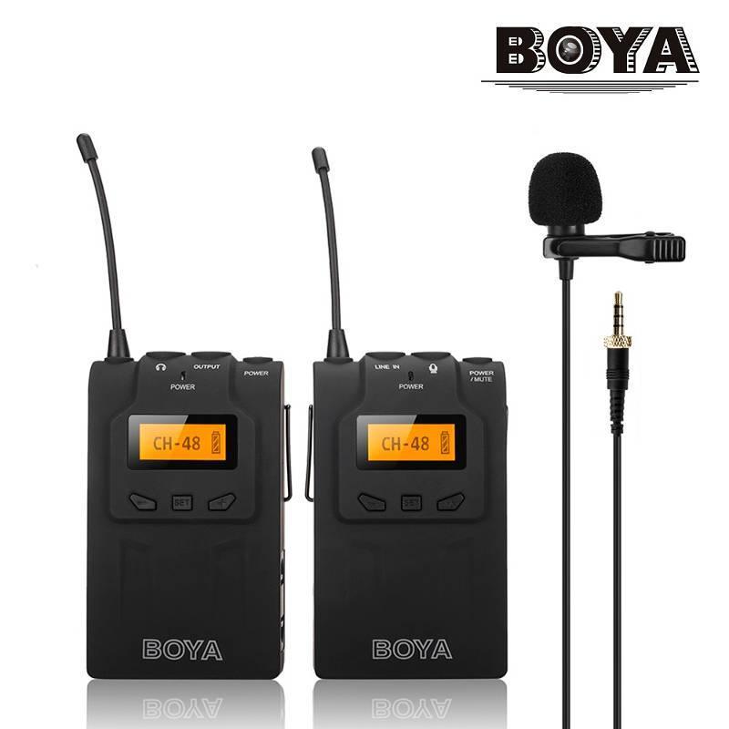 Петличний мікрофон Boya BY-WM6 - радіомікрофон (безпровідна мікрофонна система)