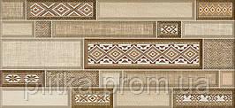 TEXTILE 23х50 (декор коричневий) Д 182 031