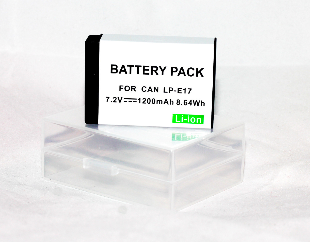 Аккумулятор LP-E17 для фотоаппаратов CANON 77D, 750D, 760D, 800D, 200D, EOS M3, M6 Rebel T6s - аналог 1200 ма