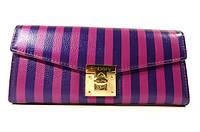 Кошелек женский натуральная кожа фиолетовый Enbery 6804427, фото 1