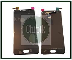 Дисплей для Meizu U10, U680h с сенсорным экраном, черный