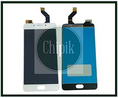 Дисплей для Meizu M6 Note, M721H с сенсорным экраном, белый