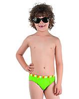 Детские плавки для мальчика Пляжная одежда для мальчиков Nirey Италия BP041608 Зеленый