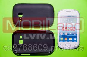 "Чохол силікон ""S""  Samsung S5292/Rex 90 (black)"