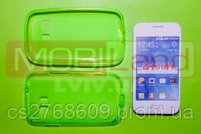 """Чохол силікон """"S""""  Samsung G130/Star 2 (green)"""