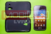 "Чехол / Чохол силікон ""S""  Samsung i8160/Ace 2 (black)"