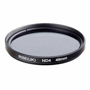 Нейтрально-серый светофильтр RISE (UK) 49 мм ND4