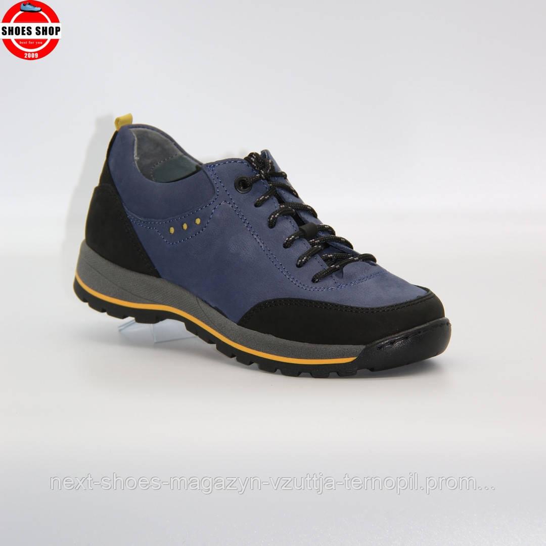 Жіночі кросівки Nagaba (Польща) синього кольору. Красиві та комфортні. Стиль: Kendall Jenner