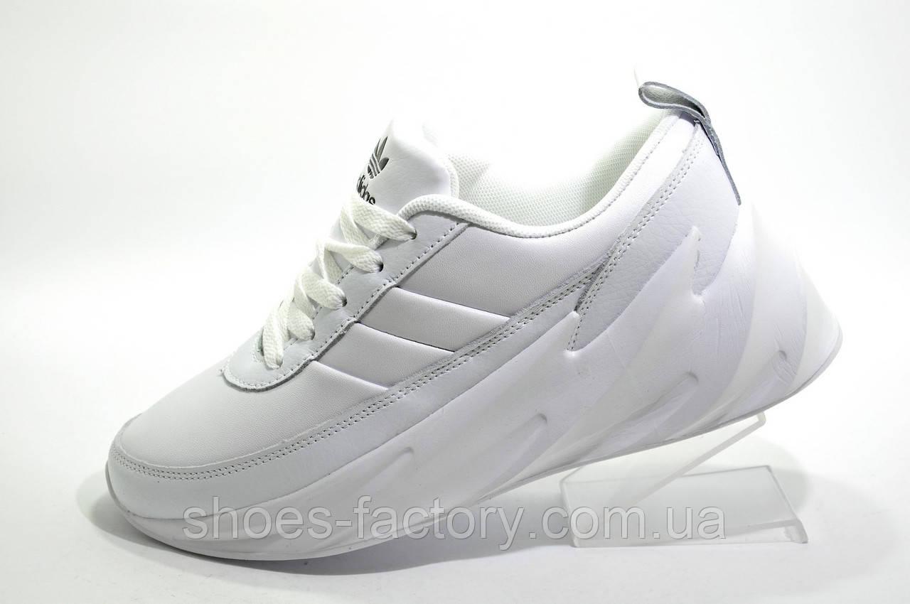 Белые кроссовки в стиле Адидас Sharks, White (Осень 2019)