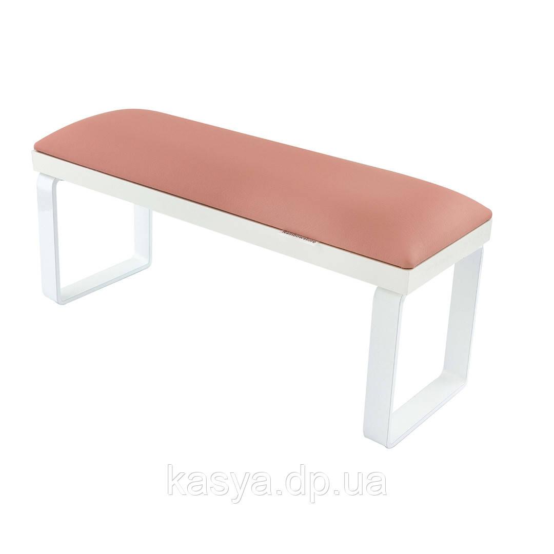 """Подлокотник для маникюра """"Loft"""" на съемных металлических ножках, розовый"""