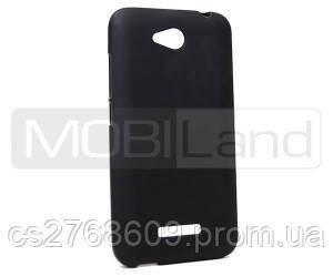 "Чехол / Чохол силікон ""S""  HTC Desire 616 (black)"