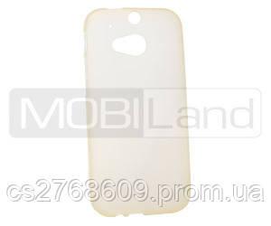 "Чехол / Чохол силікон ""S""  HTC One (M8) (white)"