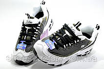 Женские кроссовки в стиле Skechers D'lites KK2347, Gray\White, фото 2