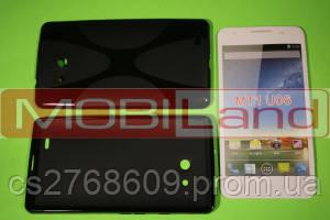 """Чохол силікон """"S""""  Huawei MT1 U06 black"""