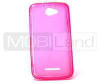"Чехол / Чохол силікон ""S""  Lenovo A320 (pink)"