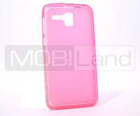 "Чехол / Чохол силікон ""S""  Lenovo A8/A808 (pink)"