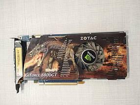 Видеокарта GeForce ZOTAC 8800GT 512MB под восстановление или на запчасти