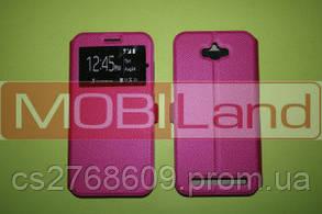 Чохол-книжка Flip QYS Asus Zenfone Max рожевий