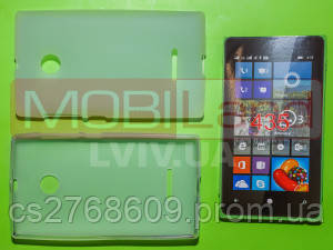 "Чехол / Чохол силікон ""S""  Nokia 435 Microsoft (white)"