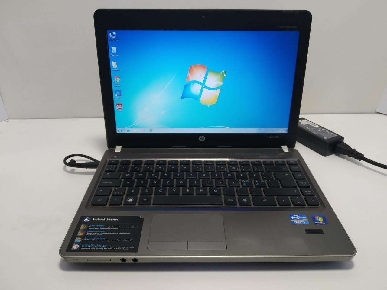 """13.3"""" HP ProBook 4330s, core i3 2310m 2.1, 3 ГБ DDR3, 160 ГБ hdd, акб до 4 часов\ Настроенный"""