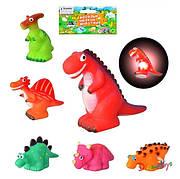 Пищалка динозавры, 6 видов, в пакете 16,5см (432шт/2)