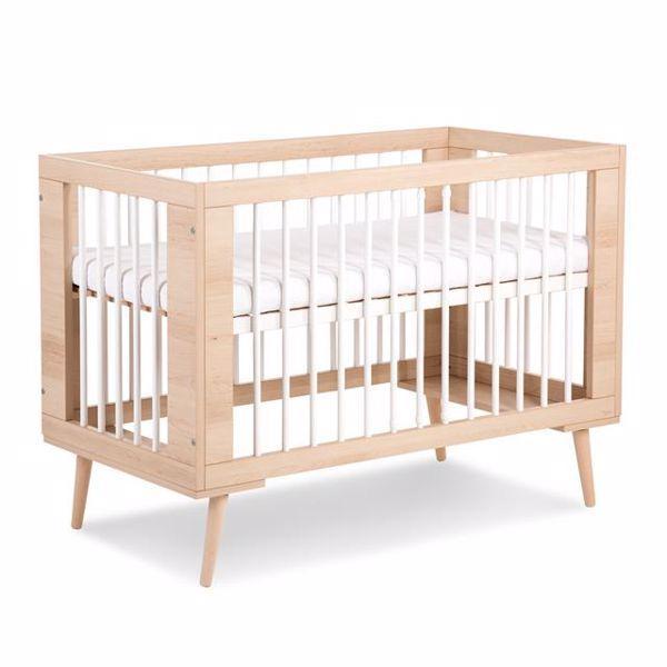 Кроватка для новорожденных Sofie 120*60 Бук Klups sof112