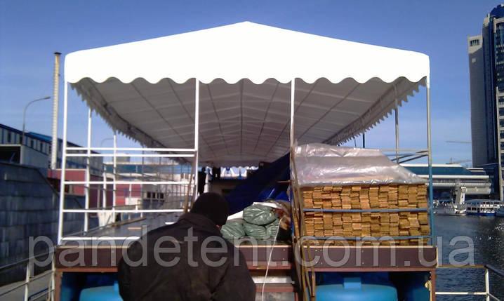 Тентовые навесы, козырьки, прозрачные шторы ПВХ для садовых павильонов, беседок, террас,, фото 2