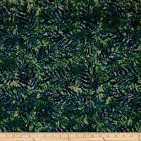 """Ткань для пэчворка и рукоделия американский хлопок  """"Листья папоротника"""", 23*55 см"""