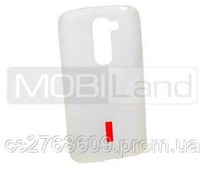 """Чехол / Чохол силікон """"S""""  LG G2 mini D618 (white)"""