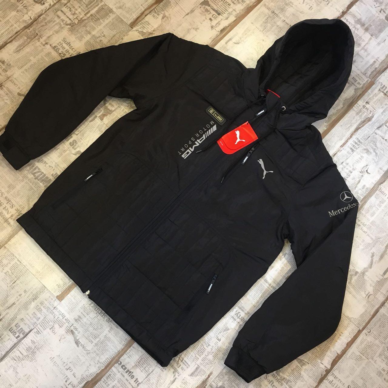 Осенняя мужская куртка Puma AMG Mercedes