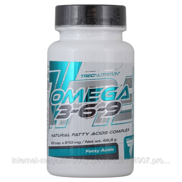 Trec Nutrition Рыбий жир Omega 3-6-9, 60 капсул