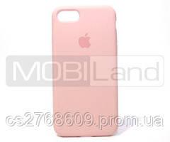 "Силікон ""Silicone Case Original"" iPhone 7, iPhone 8 бежевий"