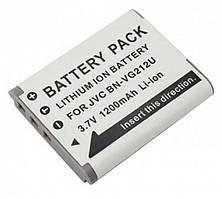 Аккумулятор для видеокамеры JVC BN-VG212U (1200 mAh) DV00DV1377 ExtraDigital