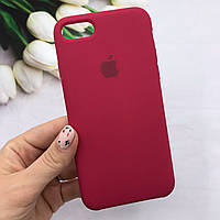 Чехол Mood Silicone Case для iPhone 7/8 Rose Red