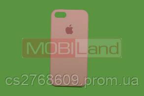 """Силікон """"Silicone Case Original"""" iPhone 5 рожевий"""