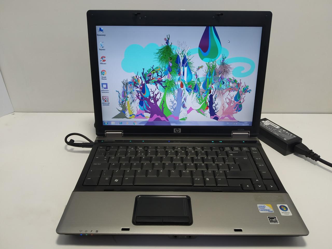 """14.1"""" HP Compaq 6530b, Intel 2 ядра p8400 2.26, 2 ГБ ОЗУ, 120 ГБ hdd  Батарея до 2-3 часов\ Настроен"""