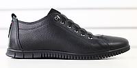 Туфли мужские кожаные черные, фото 1