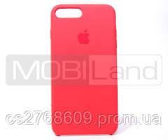 """Силікон """"Silicone Case Original"""" iPhone 7 Plus, iPhone 8 Plus цегляний"""