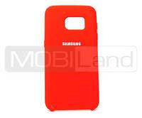 "Силікон ""Silicone Case Original"" Samsung S7 Edge, G935 червоний"