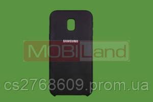 "Силікон ""Silicone Case Original"" Samsung J330, J3 2017 чорний"