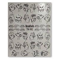Слайдеры DreamNails TM-982