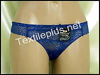 Трусики стринги Coeur joie синий 9622