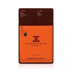 Трёхшаговый экспресс-набор для восстановления кожи JayJun Real Water Brightening Black Mask,1 шт.
