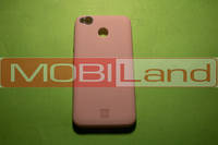 "Силікон ""Silicone Case Original"" Xiaomi Redmi 4x рожевий"