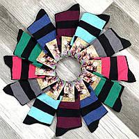 Носки женские демисезонные х/б Дукат, ассорти, 36-40 размер, 185