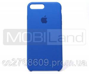 "Силікон ""Silicone Case Original"" iPhone 7 Plus, iPhone 8 Plus синій"