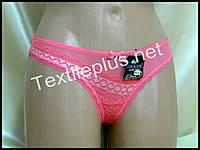 Трусики стринги Coeur joie розовый 9626