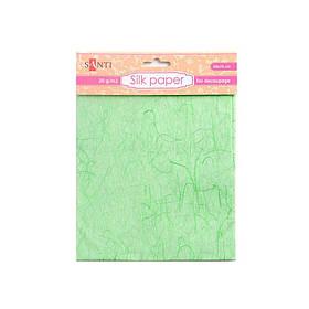 Шелковая бумага, зеленая, 50*70 см