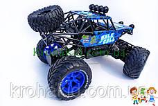 Машина на радиоуправлении (р/у) вездеход / багги 689-351 4WD OF ROAD аккумулятор 6V, масштаб 1:10 (синий), фото 3